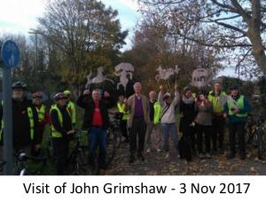 Jon Grimshaw Visit 3rd Nov 2017