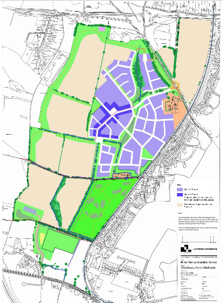 development for up to 750 homes